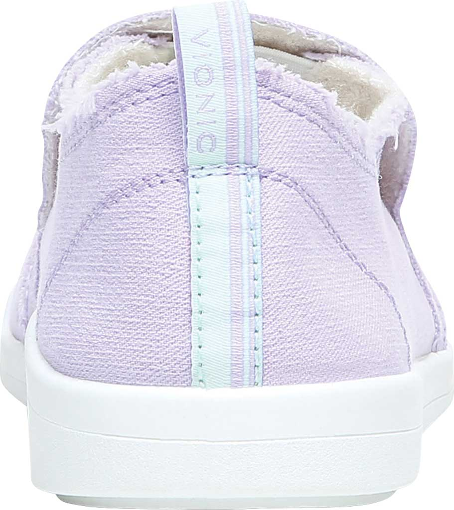 Women's Vionic Malibu Slip On Sneaker, Pastel Lilac Eco Canvas, large, image 4