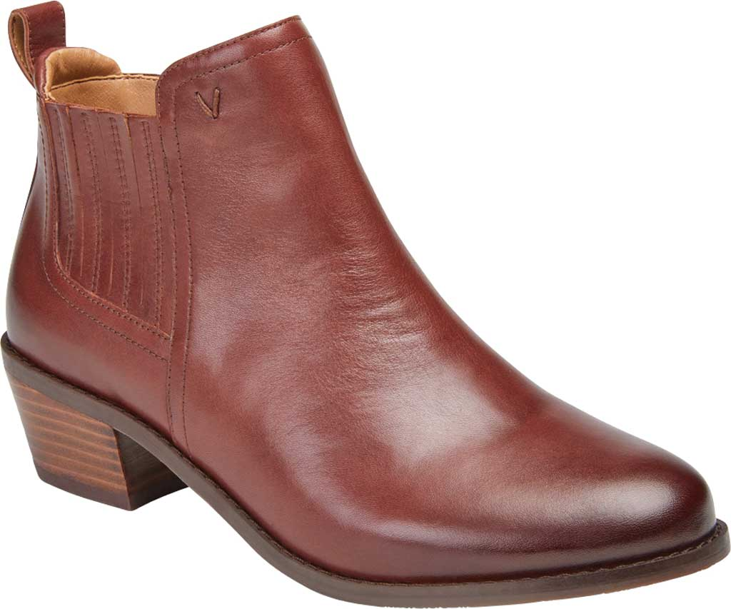 Women's Vionic Bethany Waterproof Ankle Bootie, Beaver Waterproof Leather, large, image 1