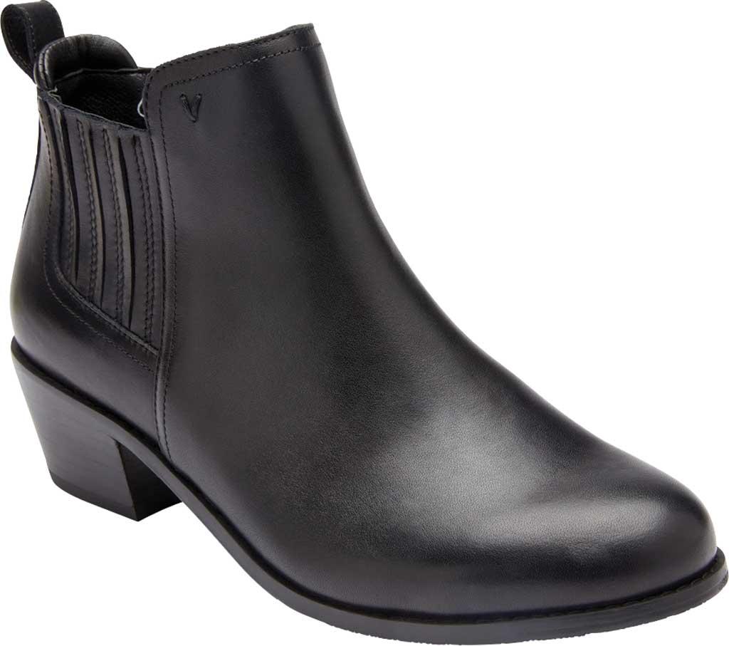 Women's Vionic Bethany Waterproof Ankle Bootie, Black Waterproof Leather, large, image 1