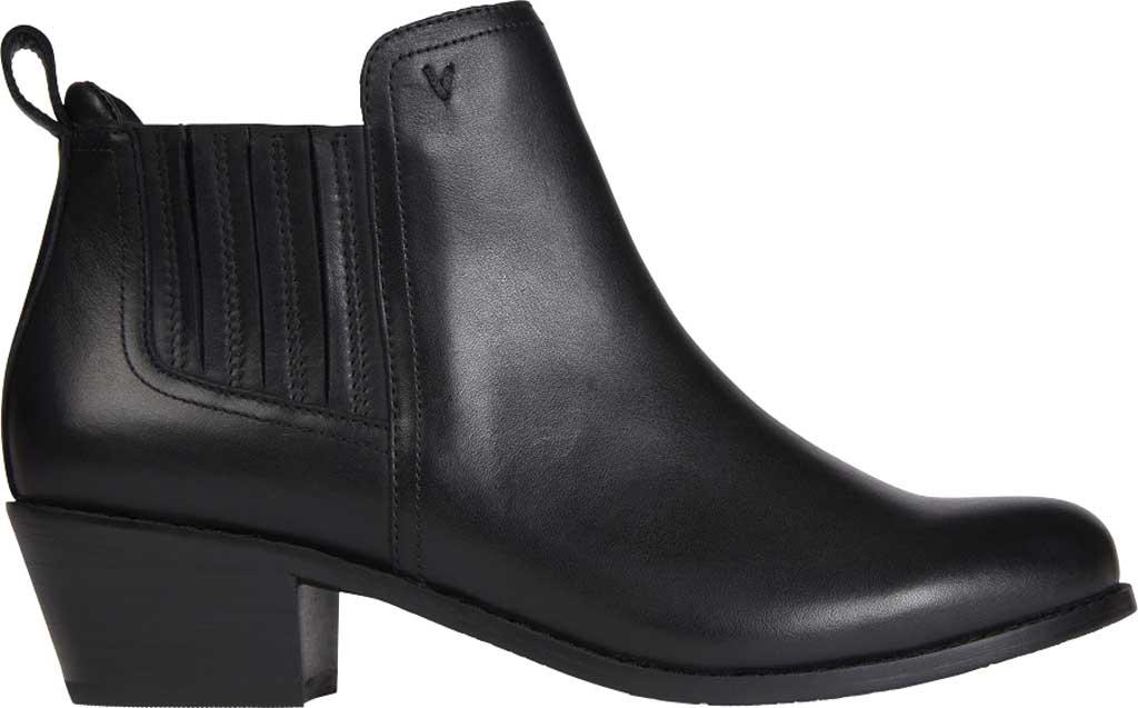 Women's Vionic Bethany Waterproof Ankle Bootie, Black Waterproof Leather, large, image 2