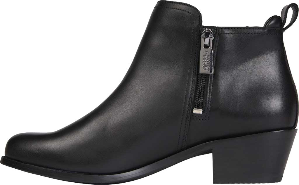 Women's Vionic Bethany Waterproof Ankle Bootie, Black Waterproof Leather, large, image 3