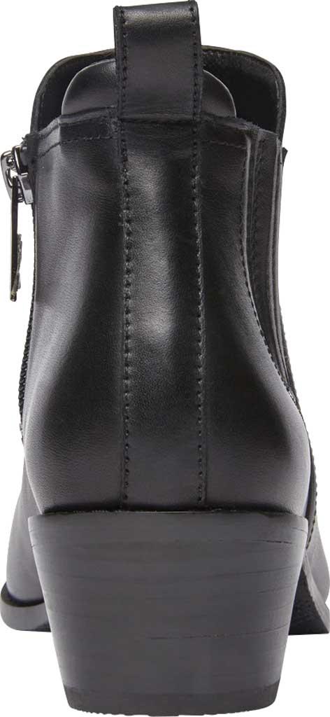 Women's Vionic Bethany Waterproof Ankle Bootie, Black Waterproof Leather, large, image 4