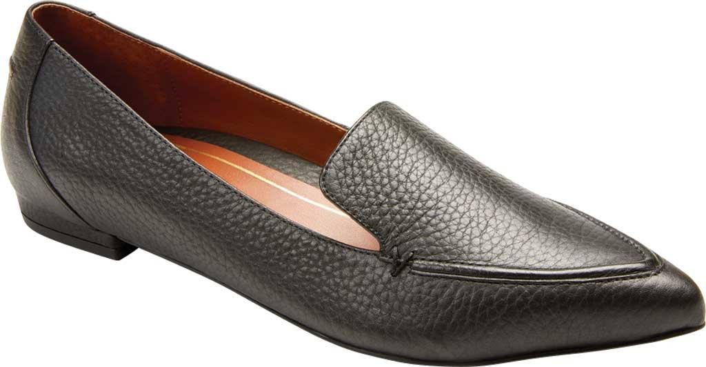Women's Vionic Noah Loafer, Black Tumbled Leather, large, image 1