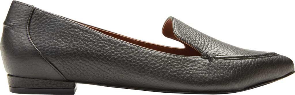 Women's Vionic Noah Loafer, Black Tumbled Leather, large, image 2