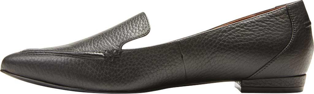 Women's Vionic Noah Loafer, Black Tumbled Leather, large, image 3