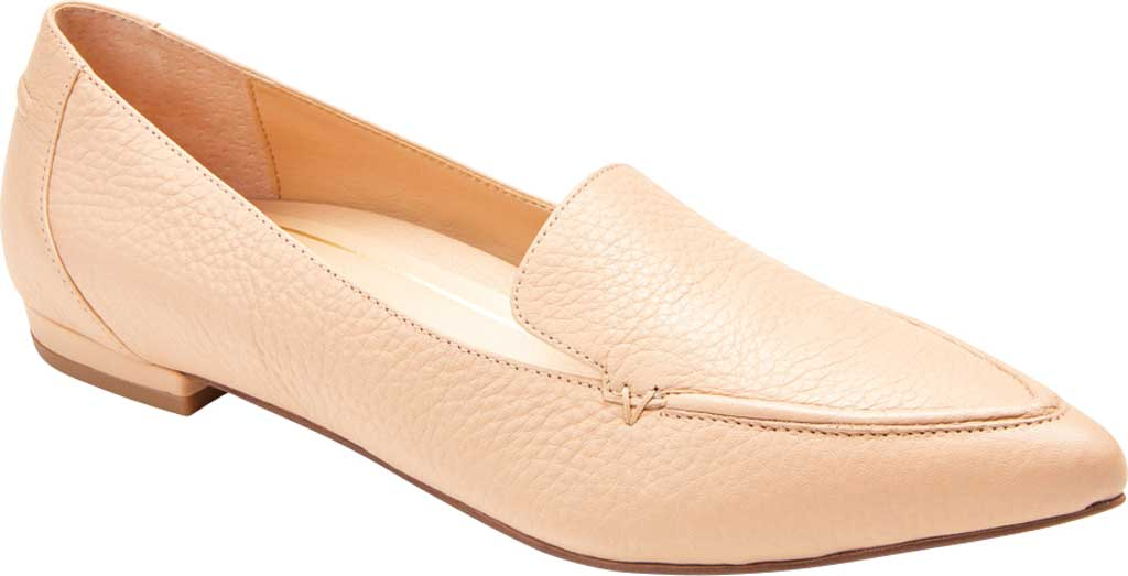 Women's Vionic Noah Loafer, Nude Tumbled Leather, large, image 1