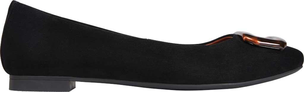Women's Vionic Amanda Ballet Flat, Black Tortoise Suede, large, image 2