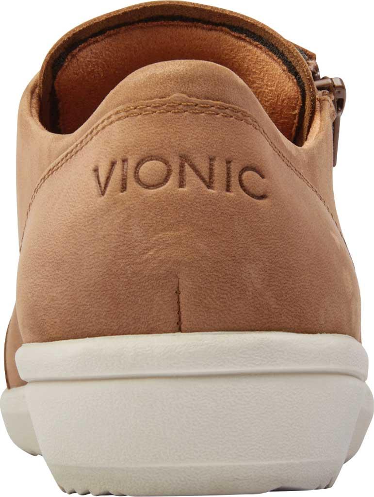 Women's Vionic Abigail Lace Up Sneaker, Wheat Nubuck, large, image 4
