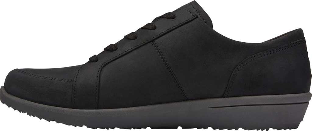Women's Vionic Abigail Lace Up Sneaker, Black Nubuck, large, image 3