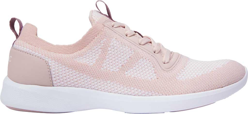 Women's Vionic Lenora Lace Up Sneaker, Blush Engineered Mesh, large, image 2