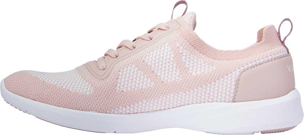 Women's Vionic Lenora Lace Up Sneaker, Blush Engineered Mesh, large, image 3