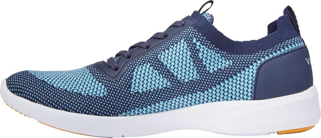 Women's Vionic Lenora Lace Up Sneaker, Navy Engineered Mesh, large, image 3