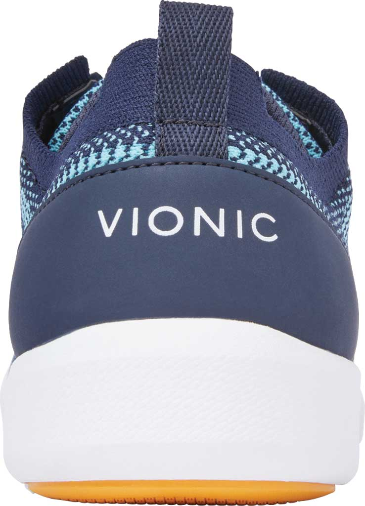 Women's Vionic Lenora Lace Up Sneaker, Navy Engineered Mesh, large, image 4