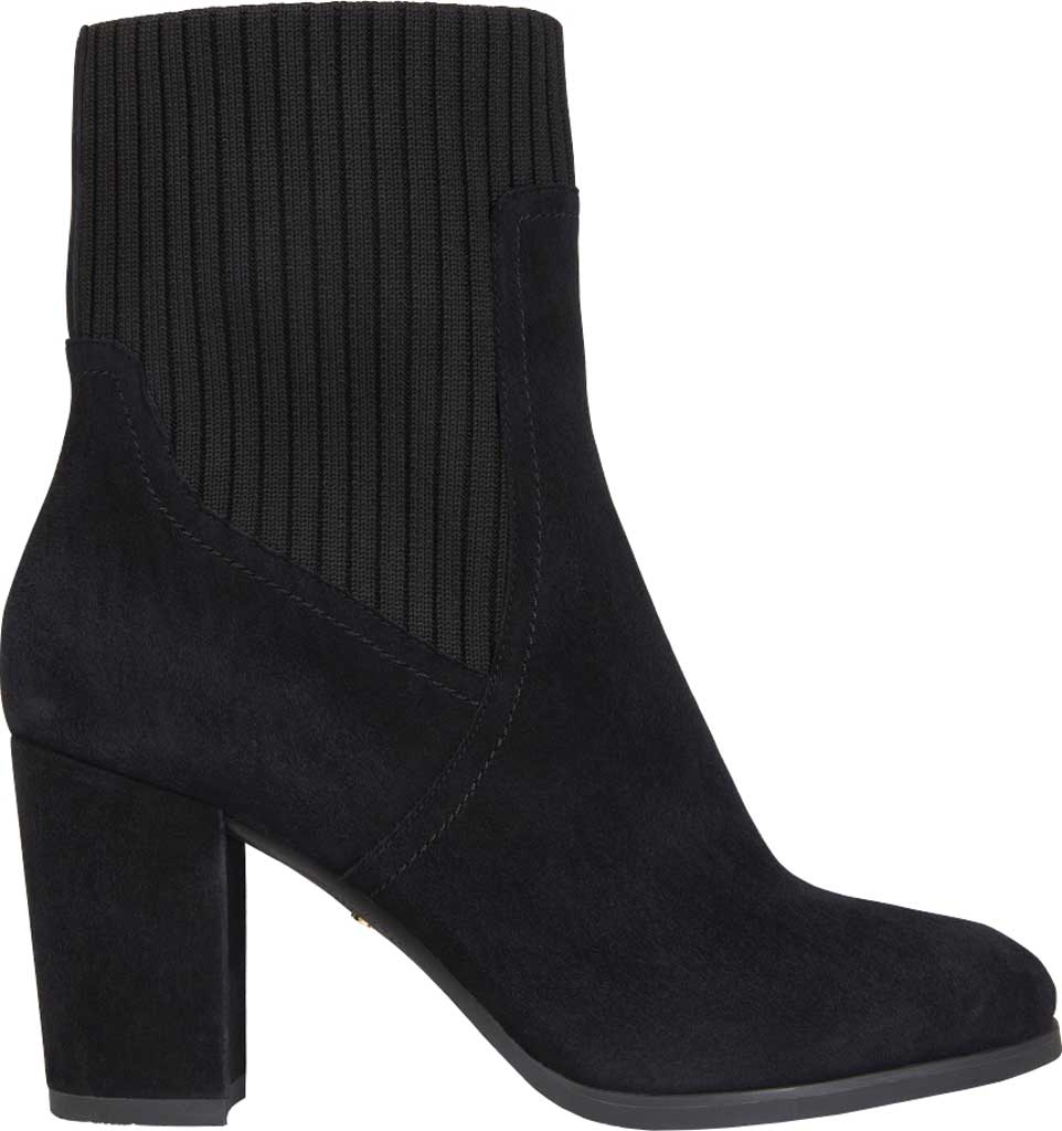 Women's Vionic Kaylee Ankle Bootie, Black Knit/Suede, large, image 2