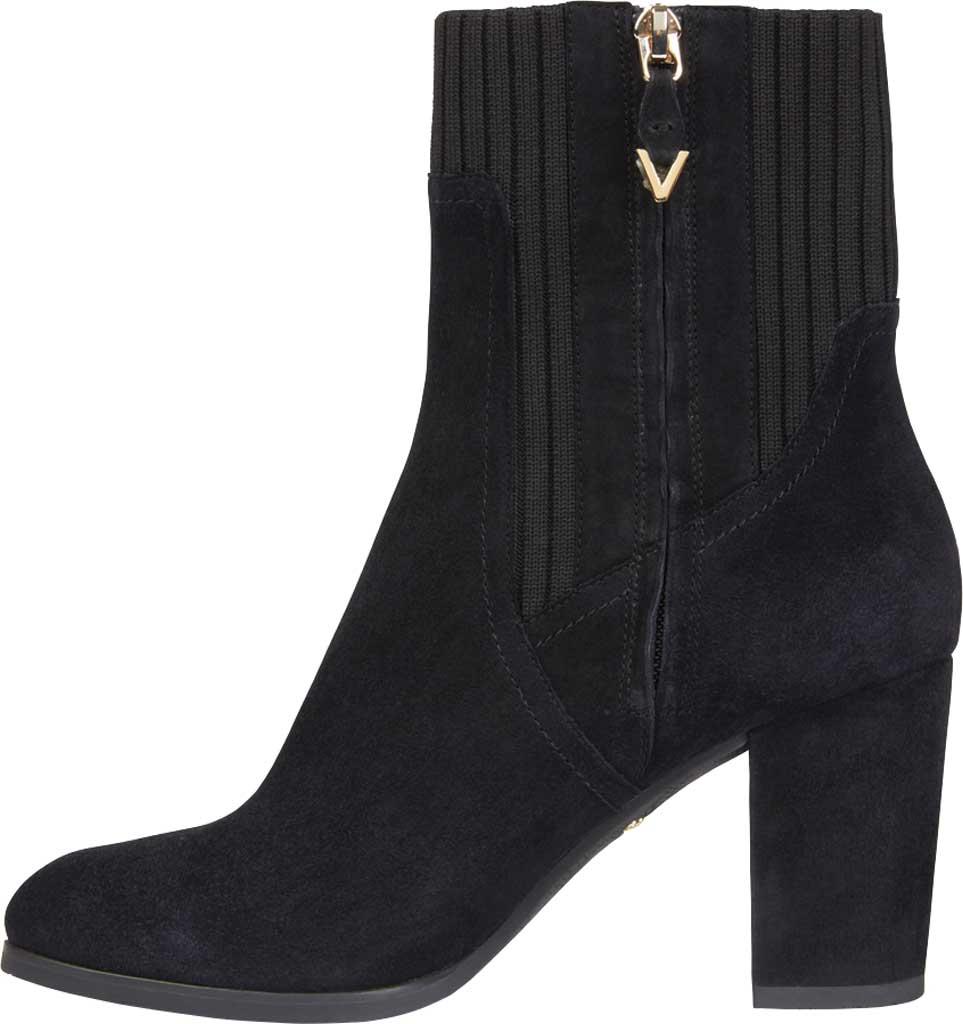 Women's Vionic Kaylee Ankle Bootie, Black Knit/Suede, large, image 3