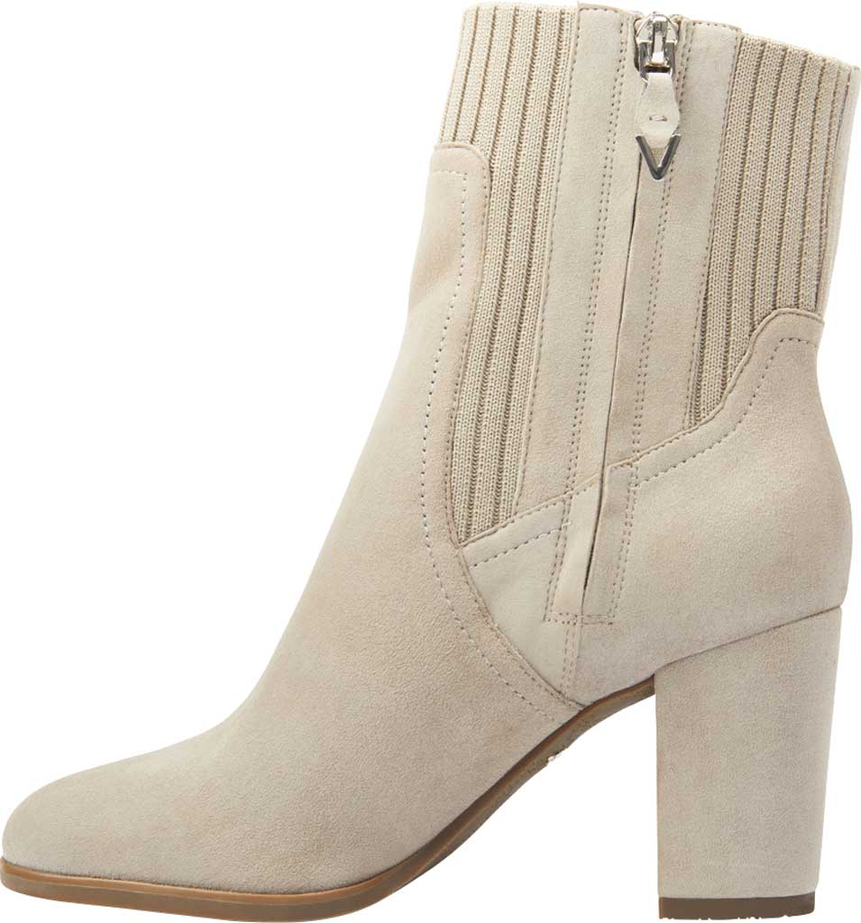 Women's Vionic Kaylee Ankle Bootie, Dark Taupe Knit/Suede, large, image 3