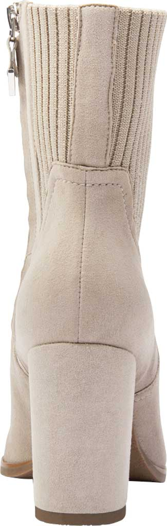 Women's Vionic Kaylee Ankle Bootie, Dark Taupe Knit/Suede, large, image 4