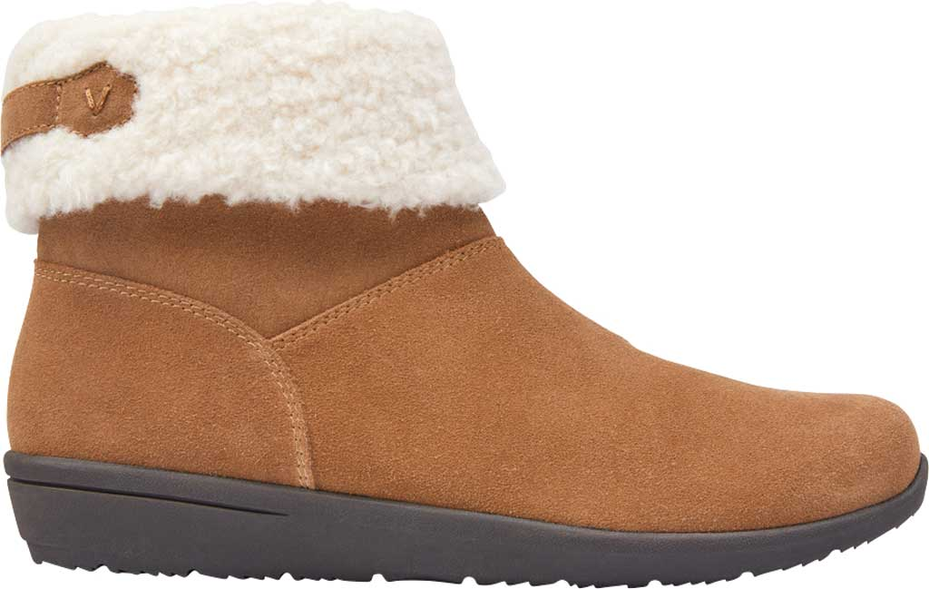 Women's Vionic Ruth Ankle Bootie, Wheat Suede, large, image 2