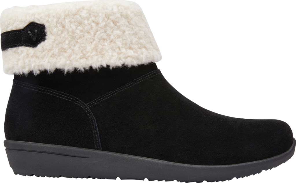 Women's Vionic Ruth Ankle Bootie, Black Suede, large, image 2