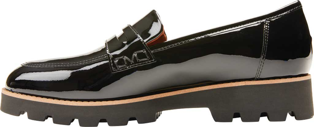 Women's Vionic Cheryl Penny Loafer, Black Patent Leather, large, image 3