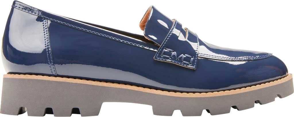 Women's Vionic Cheryl Penny Loafer, Navy Patent Leather, large, image 2