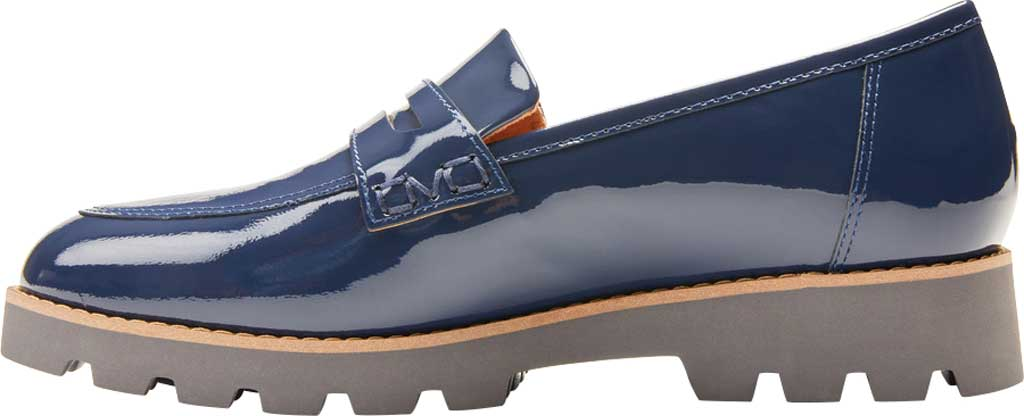 Women's Vionic Cheryl Penny Loafer, Navy Patent Leather, large, image 3