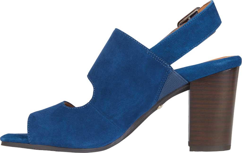 Women's Vionic Bianca Backstrap Heeled Sandal, Dark Blue Suede, large, image 3
