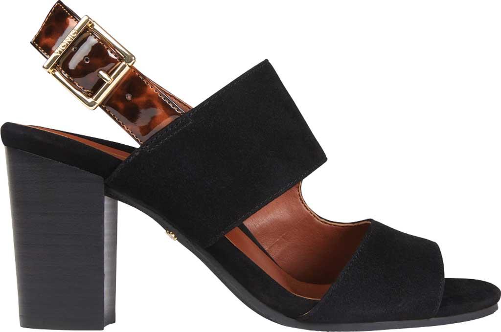 Women's Vionic Bianca Backstrap Heeled Sandal, Black Tortoise Suede, large, image 2
