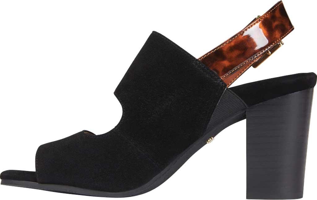 Women's Vionic Bianca Backstrap Heeled Sandal, Black Tortoise Suede, large, image 3
