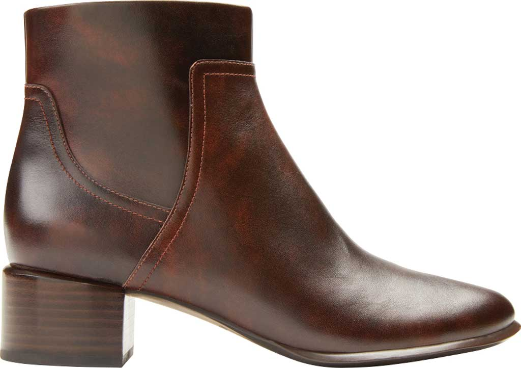 Women's Vionic Kamryn Waterproof Ankle Bootie, Chocolate Tipped Leather, large, image 2