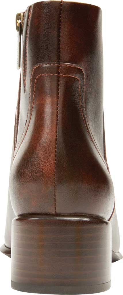 Women's Vionic Kamryn Waterproof Ankle Bootie, Chocolate Tipped Leather, large, image 4