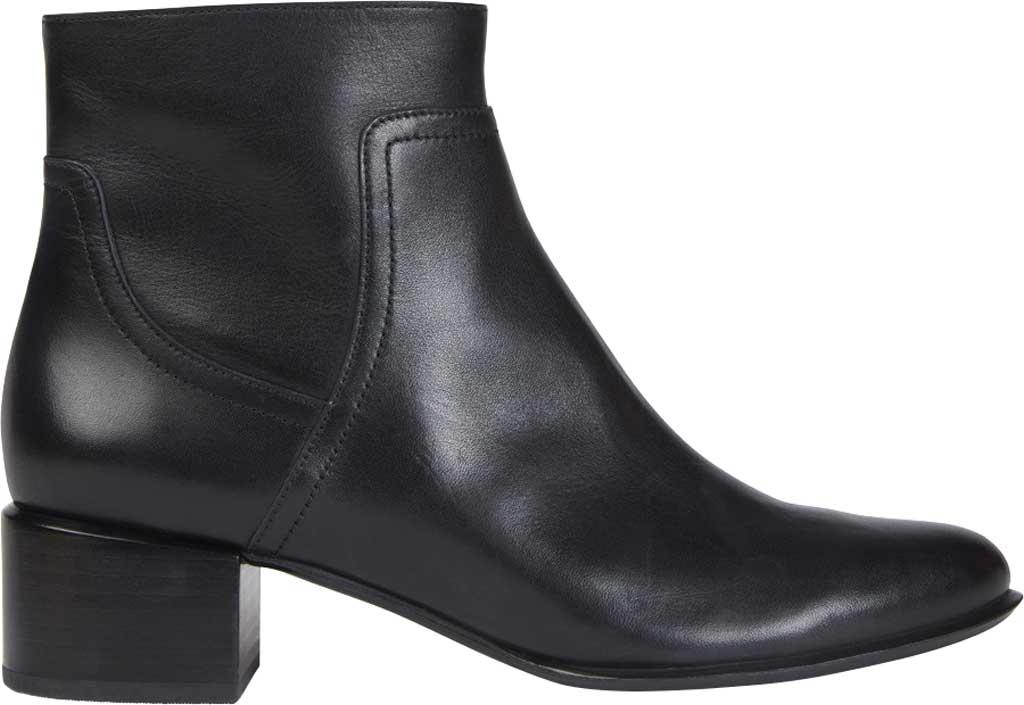 Women's Vionic Kamryn Waterproof Ankle Bootie, Black Leather, large, image 2