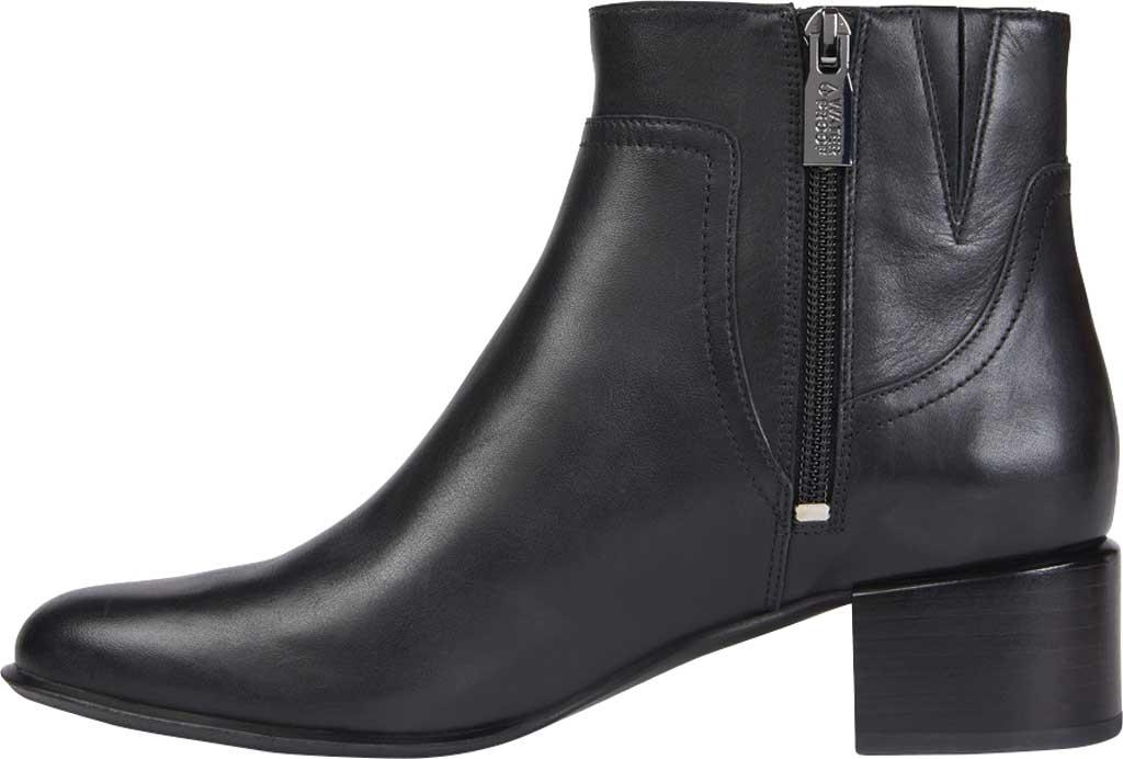 Women's Vionic Kamryn Waterproof Ankle Bootie, Black Leather, large, image 3