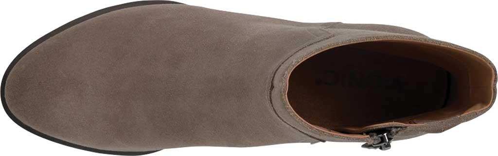 Women's Vionic Kamryn Waterproof Ankle Bootie, Stone Suede, large, image 5