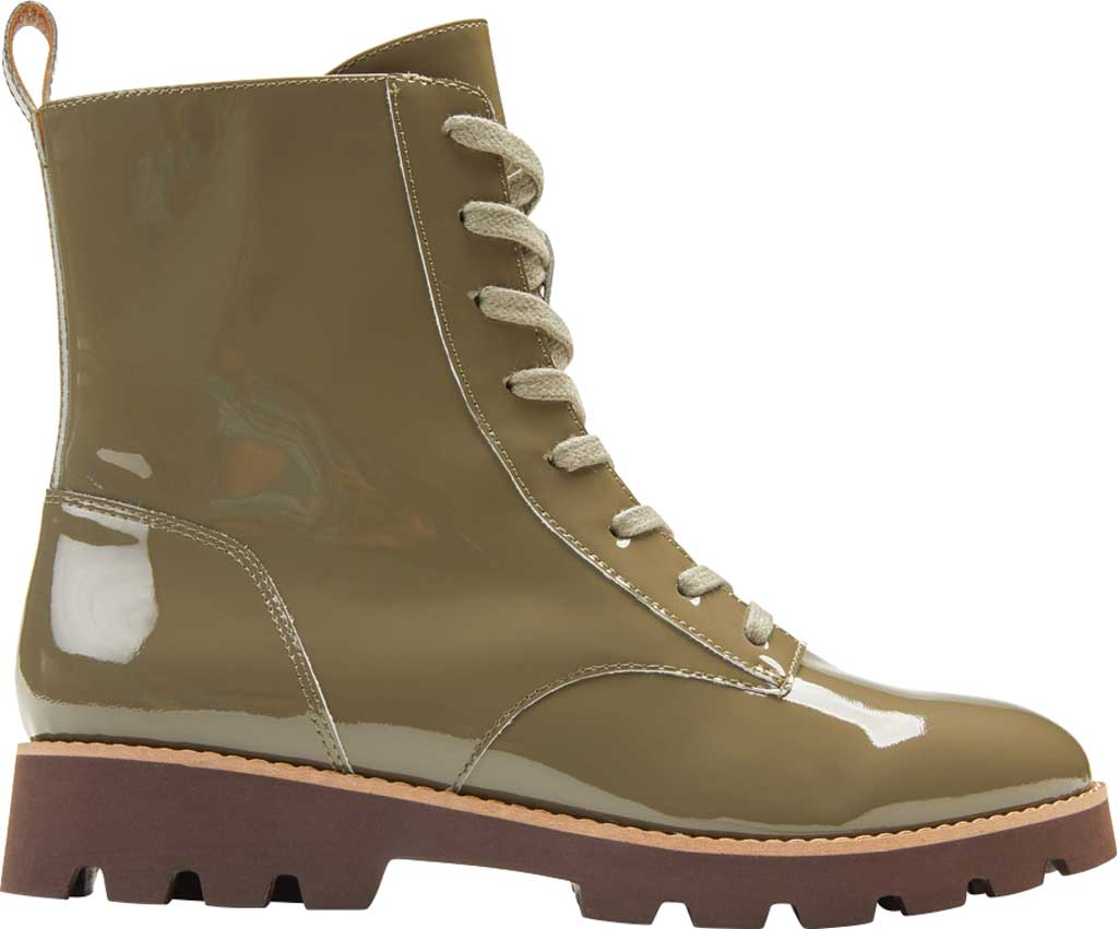 Women's Vionic Lani Lace Up Ankle Boot, Olive Patent Leather, large, image 2