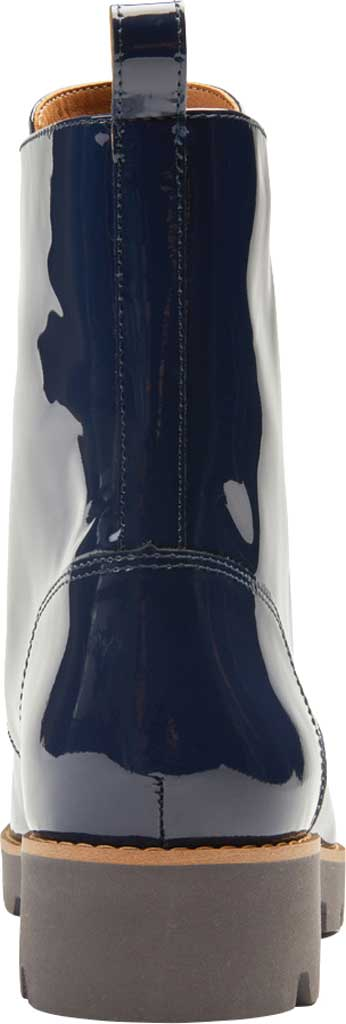 Women's Vionic Lani Lace Up Ankle Boot, Navy Patent Leather, large, image 3