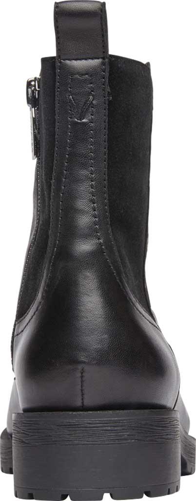 Women's Vionic Brynn Waterproof Ankle Bootie, Black Waterproof Leather/Suede, large, image 4