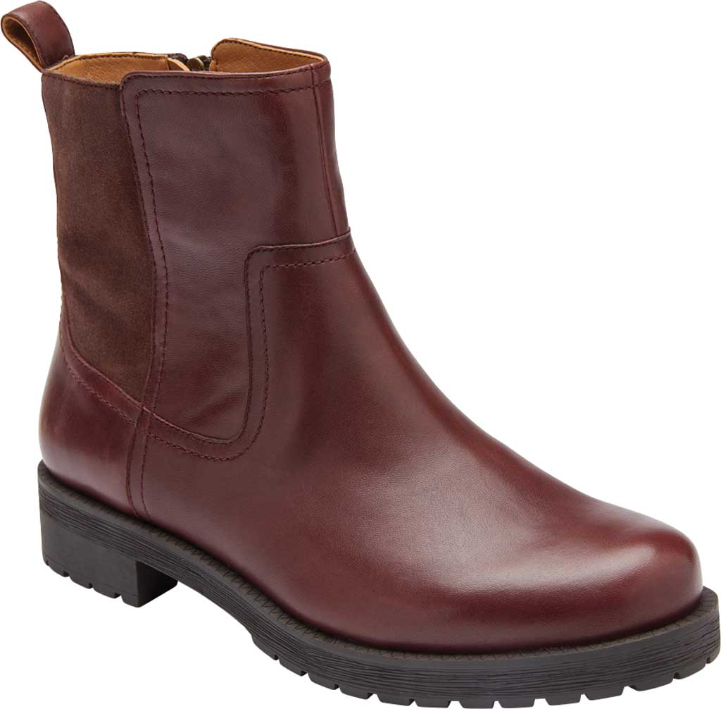 Women's Vionic Brynn Waterproof Ankle Bootie, Scotch Waterproof Leather/Suede, large, image 1