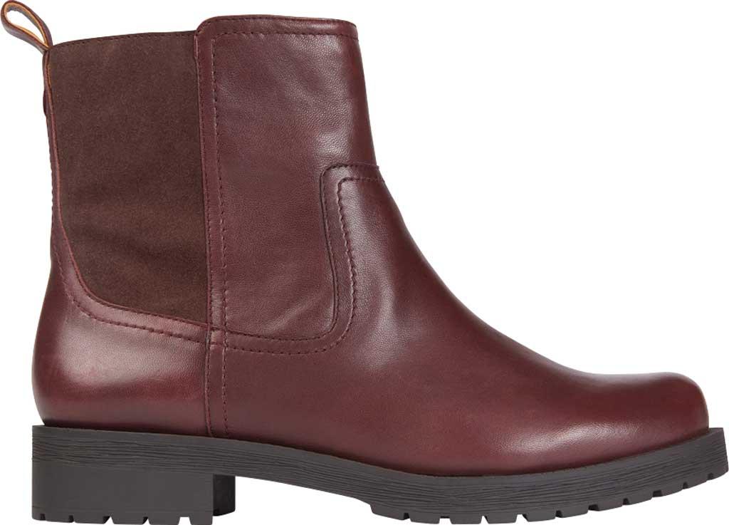 Women's Vionic Brynn Waterproof Ankle Bootie, Scotch Waterproof Leather/Suede, large, image 2