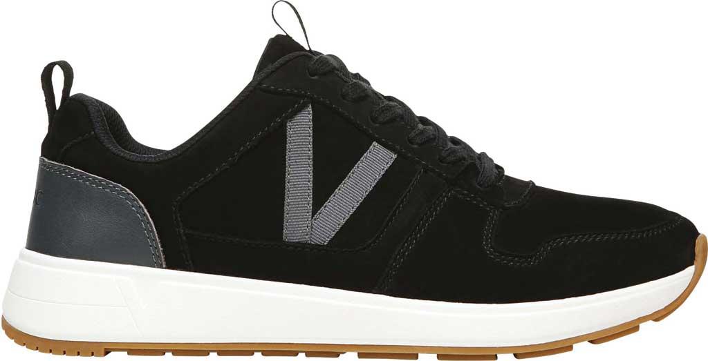 Women's Vionic Rechelle Lace Up Sneaker, Black Nubuck Leather, large, image 2