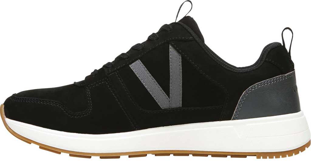 Women's Vionic Rechelle Lace Up Sneaker, Black Nubuck Leather, large, image 3
