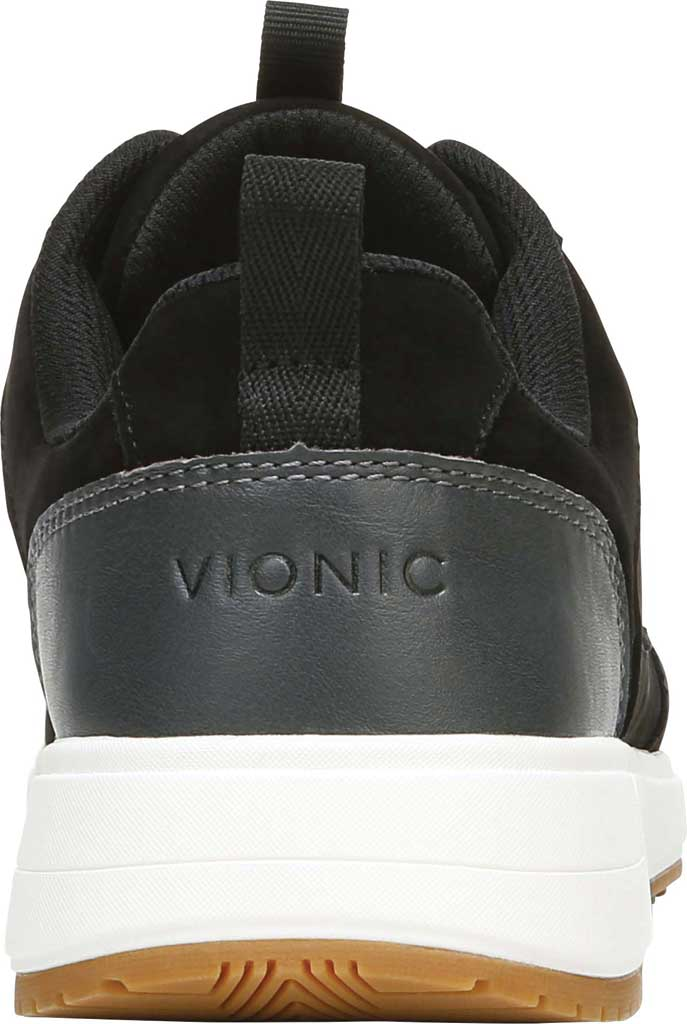 Women's Vionic Rechelle Lace Up Sneaker, Black Nubuck Leather, large, image 4
