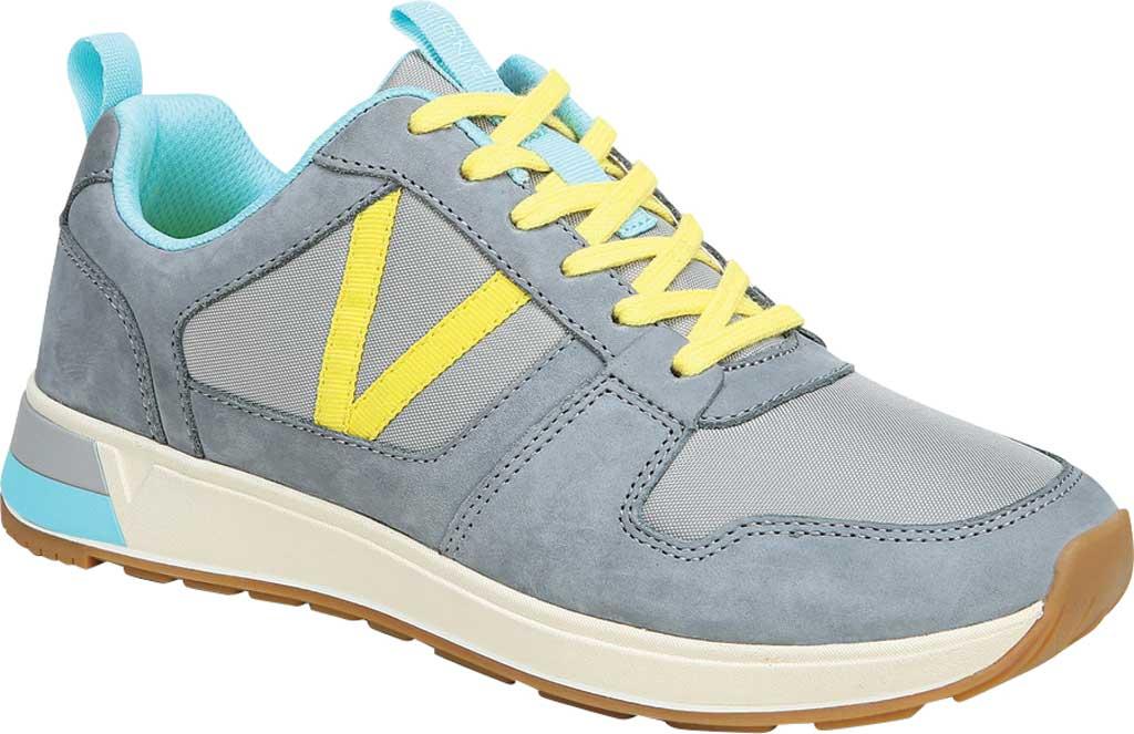 Women's Vionic Rechelle Lace Up Sneaker, Light Grey Nylon/Nubuck, large, image 1