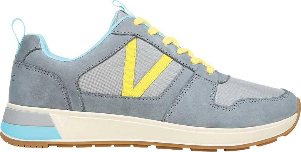 Women's Vionic Rechelle Lace Up Sneaker, Light Grey Nylon/Nubuck, large, image 2