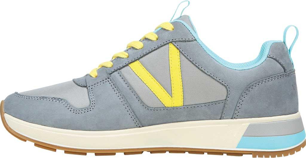 Women's Vionic Rechelle Lace Up Sneaker, Light Grey Nylon/Nubuck, large, image 3