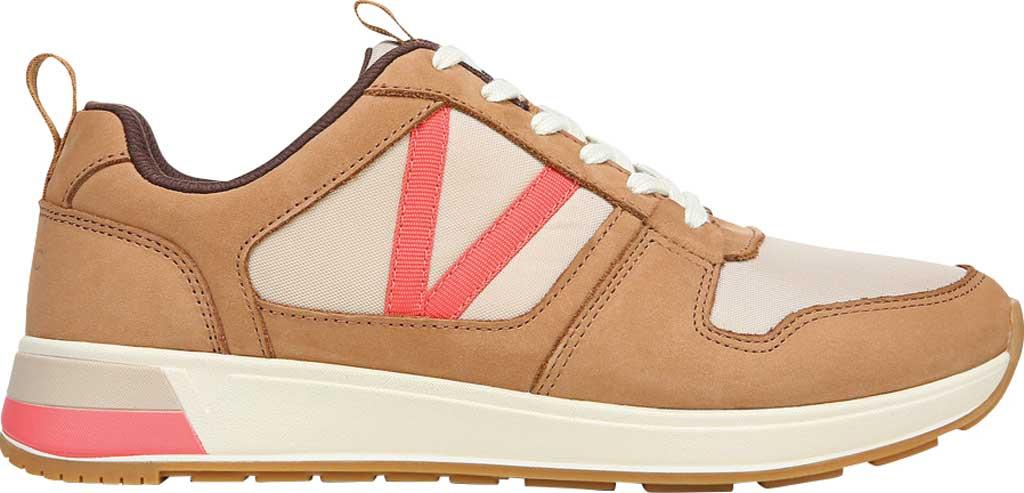 Women's Vionic Rechelle Lace Up Sneaker, Toffee Nylon/Nubuck, large, image 2