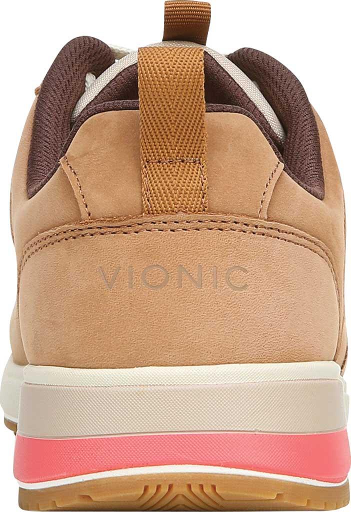 Women's Vionic Rechelle Lace Up Sneaker, Toffee Nylon/Nubuck, large, image 4