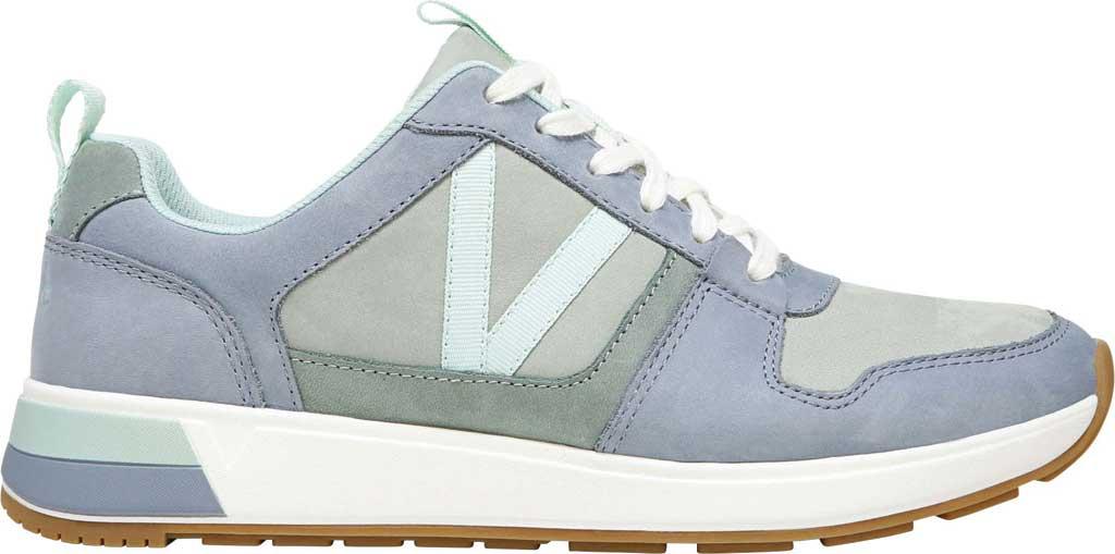 Women's Vionic Rechelle Lace Up Sneaker, Light Blue/Lichen Nubuck Leather, large, image 2