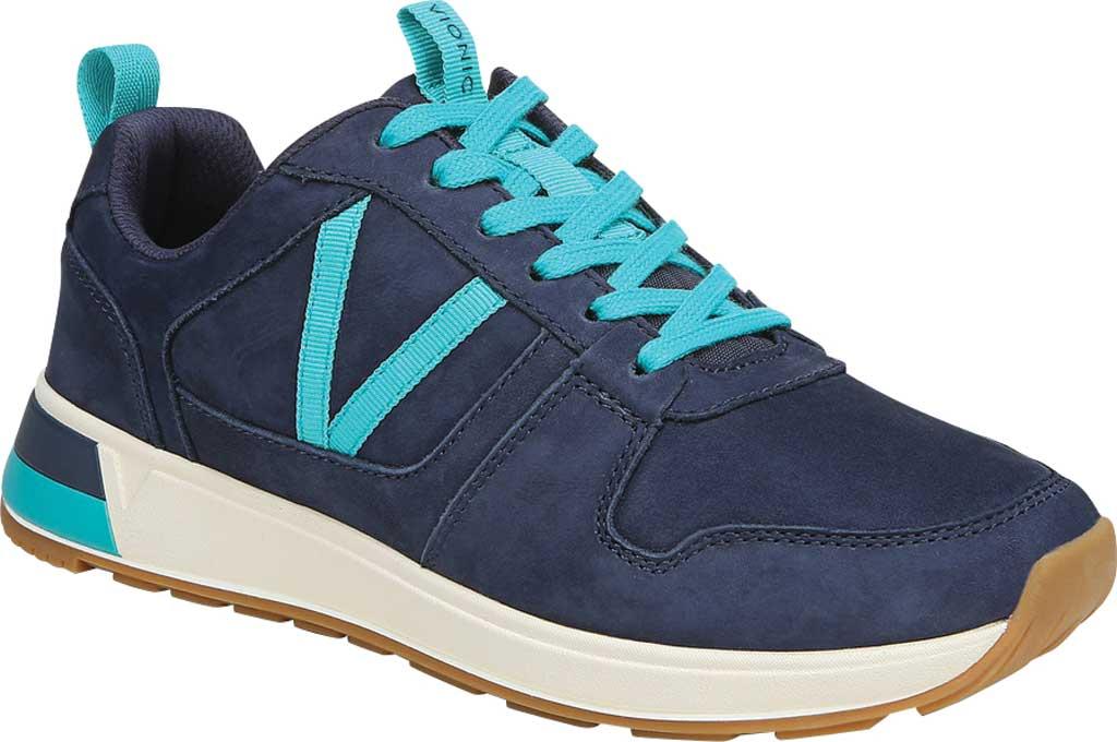 Women's Vionic Rechelle Lace Up Sneaker, Navy Nubuck, large, image 1