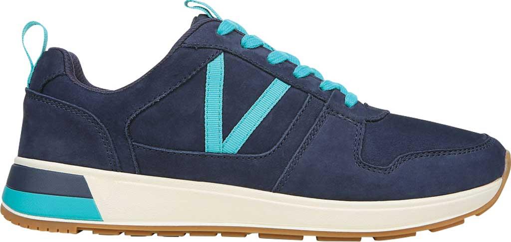 Women's Vionic Rechelle Lace Up Sneaker, Navy Nubuck, large, image 2